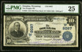 National Bank Notes:Wyoming, Douglas, WY - $10 1902 Plain Back Fr. 625 The D...