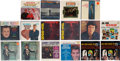 Music Memorabilia:Recordings, Group of 16 Various Pop Vinyl LPs.  A collecti...