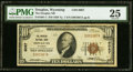 National Bank Notes:Wyoming, Douglas, WY - $10 1929 Ty. 1 The Douglas NB...