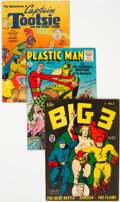 Golden Age (1938-1955):Miscellaneous, Golden Age Group of 9 (Various Publishers, 1941-55) Condition: Average GD/VG.... (Total: 9 )