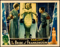 "Movie Posters:Horror, The Bride of Frankenstein (Universal, 1935). Fine/Very Fine. LobbyCard (11"" X 14"").. ..."