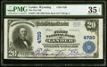 National Bank Notes:Wyoming, Lander, WY - $20 1902 Plain Back Fr. 654 The Fi...