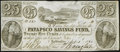 Obsoletes By State:Maryland, Baltimore, MD- Patapsco Savings Bank 25¢ Sept. 3 1840 Crisp Uncirculated.. ...