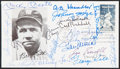Autographs:Post Cards, 1983 Babe Ruth Multi-Signed First Day Cover (19 Signatures). ...