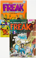 Bronze Age (1970-1979):Alternative/Underground, The Fabulous Furry Freak Brothers #1 and 2 Group (Rip Off Press, 1971-72) Condition: Average FN.... (Total: 2 )