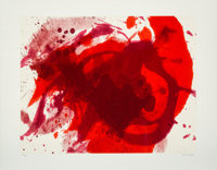 Kazuo Shiraga (1924-2008) Passionate Winter, from Official Arts Portfolio of the XXIVth Olympiad, Se