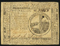 Continental Currency May 10, 1775 $2 Very Fine