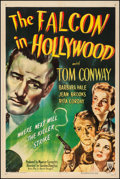 """Movie Posters:Mystery, The Falcon in Hollywood (RKO, 1944). Fine/Very Fine on Linen. OneSheet (27"""" X 41""""). Mystery. From the Collection ..."""