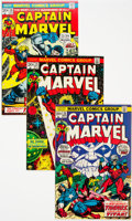 Bronze Age (1970-1979):Superhero, Captain Marvel #22-62 Near Complete Range Group of 45 (Marvel, 1972-79) Condition: Average VF.... (Total: 36 Items)