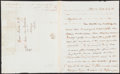 Autographs:Letters, 1826 Daniel Webster Signed Letter. Offered is a tw...