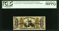 Fractional Currency:Third Issue, Fr. 1362 50¢ Third Issue Justice PCGS Choice About New 58PPQ.. ...