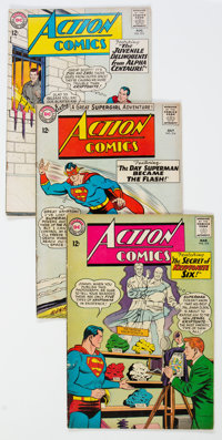 Action Comics Group of 24 (DC, 1964-66) Condition: Average GD/VG.... (Total: 24 Comic Books)