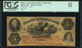 Obsoletes By State:Maryland, Elkton, MD- Farmers & Merchants Bank of Cecil County $5 Dec. 1, 1862 G8a PCGS Fine 12.. ...