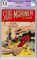 Golden Age (1938-1955):Superhero, Sub-Mariner Comics #29 (Timely, 1948) CGC Apparent VF- 7.5 Slight to Moderate (A-2) Off-white to white pages....