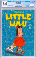 Golden Age (1938-1955):Cartoon Character, Four Color #74 Little Lulu (Dell, 1945) CGC VF 8.0 Off-white to white pages....