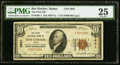 National Bank Notes:Maine, Bar Harbor, ME - $10 1929 Ty. 1 The First NB Ch. # 3941 PMG Very Fine 25.. ...