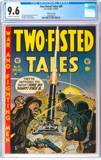 Two-Fisted Tales #29 Gaines File Pedigree (EC, 1952) CGC NM+ 9.6 Off-white to white pages