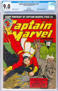 Golden Age (1938-1955):Superhero, Captain Marvel Adventures #13 Crowley Copy Pedigree (Fawcett Publications, 1942) CGC VF/NM 9.0 Cream to off-white pages....