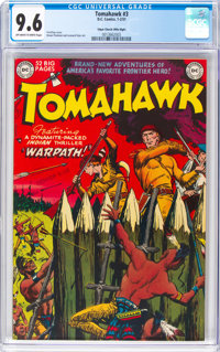 Tomahawk #3 Mile High Pedigree (DC, 1951) CGC NM+ 9.6 Off-white to white pages