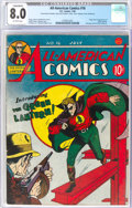 Golden Age (1938-1955):Superhero, All-American Comics #16 (DC, 1940) CGC Conserved VF 8.0 Off-white pages....