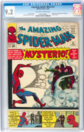 Silver Age (1956-1969):Superhero, The Amazing Spider-Man #13 (Marvel, 1964) CGC NM- 9.2 Off-white towhite pages....