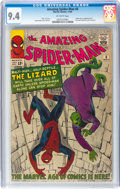 Silver Age (1956-1969):Superhero, The Amazing Spider-Man #6 (Marvel, 1963) CGC NM 9.4 Off-whitepages....