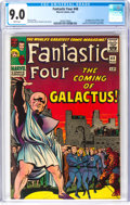 Silver Age (1956-1969):Superhero, Fantastic Four #48 (Marvel, 1966) CGC VF/NM 9.0 White pages....