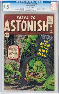 Tales to Astonish #27 (Marvel, 1962) CGC VF- 7.5 Off-white pages