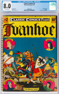 Golden Age (1938-1955):Classics Illustrated, Classic Comics #2 Ivanhoe Original Edition (Gilberton, 1941) CGC VF 8.0 Off-white pages....