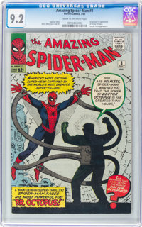 The Amazing Spider-Man #3 (Marvel, 1963) CGC NM- 9.2 Cream to off-white pages
