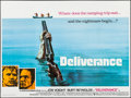 """Movie Posters:Action, Deliverance (Warner Brothers, 1972). Folded, Very Fine+. BritishQuad (30"""" X 40""""). Action.. ..."""
