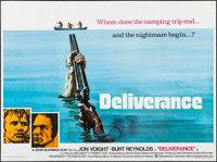 "Deliverance (Warner Brothers, 1972). Folded, Very Fine+. British Quad (30"" X 40""). Action"