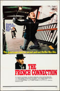 """Movie Posters:Action, The French Connection (20th Century Fox, 1971). Folded, Very Fine-.One Sheet (27"""" X 41""""). Action.. ..."""