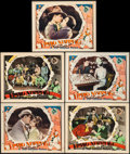 """Movie Posters:Drama, 3 Ring Marriage (First National, 1928). Very Fine-. Lobby Cards (5)(11"""" X 14""""). Drama. From the Collection of Frank Buxto...(Total: 5 Items)"""