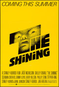 "Movie Posters:Horror, The Shining (Warner Brothers, 1980). Folded, Very Fine+. One Sheet(26.75"" X 39.75"") Advance. Saul Bass Artwork. Horr..."