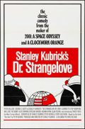 Movie Posters:Comedy, Dr. Strangelove or: How I Learned to Stop Worrying and Love theBomb (Columbia, R-1972). Folded, Very Fine. One Sheet...