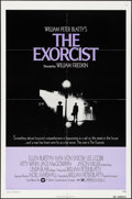 """Movie Posters:Horror, The Exorcist (Warner Brothers, 1974). Folded, Very Fine-. One Sheet(27"""" X 41""""). Horror.. ..."""