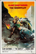 """Movie Posters:Action, The Gauntlet (Warner Brothers, 1977). Folded, Very Fine+. One Sheet(27"""" X 41""""). Frank Frazetta Artwork. Action.. ...."""