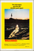 "Movie Posters:Adventure, Walkabout (20th Century Fox, 1971). Folded, Very Fine-. One Sheet (27"" X 41""). Adventure.. ..."