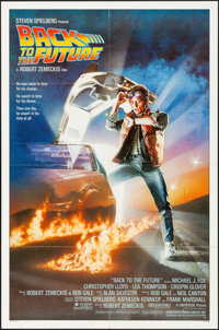 "Back to the Future (Universal, 1985). Folded, Very Fine-. One Sheet (27"" X 41""). SS, Drew Struzan Artwork. Sci..."