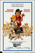 "Movie Posters:Sports, The Bad News Bears (Paramount, 1976). Folded, Fine/Very Fine. One Sheet (27"" X 41""). Jack Davis Artwork. Sports.. ..."