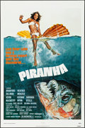 """Movie Posters:Horror, Piranha & Other Lot (New World, 1978). Folded, Overall:Fine/Very Fine. One Sheets (2) (27"""" X 41""""). John Solie Artwor..."""