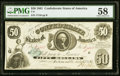 Confederate Notes:1861 Issues, T8 $50 1861 PF-2 Cr. 15 PMG Choice About Unc 58.. ...
