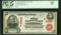 National Bank Notes:California, Artesia, CA - $5 1902 Red Seal Fr. 588 The First NB Ch. # (P)8063 PCGS Very Fine 25.. ...