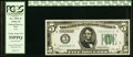 Error Notes:Inverted Reverses, Fr. 1951-E $5 1928A Federal Reserve Note. PCGS Choice About New 55PPQ.. ...