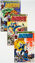 Modern Age (1980-Present):Superhero, Daredevil Group of 22 (Marvel, 1979-83) Condition: Average NM-....(Total: 22 Comic Books)