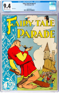 Fairy Tale Parade #1 (Dell, 1942) CGC NM 9.4 Cream to off-white pages
