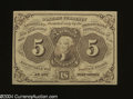 Fractional Currency:First Issue, Fr. 1230 5c First Issue Very Choice Crisp Uncirculated....