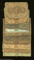 Fractional Currency:First Issue, First Issue Grouping.... (16 notes)