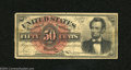 Fractional Currency:Fourth Issue, Fr. 1374 50c Fourth Issue Lincoln Very Good....